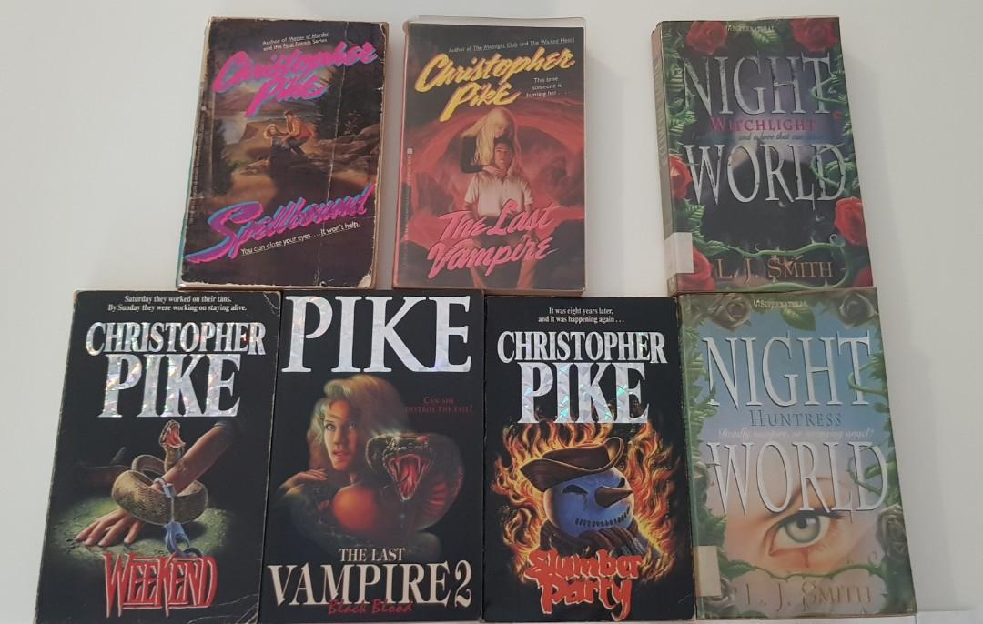 Christopher Pike books!