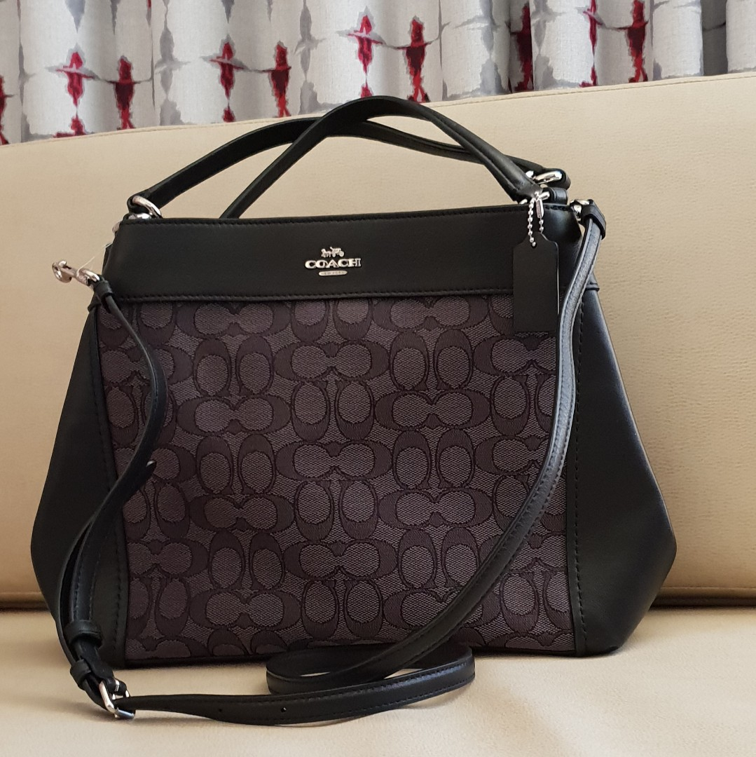 409c47be69a7 Brand New! Authentic COACH Small Lexy Shoulder Bag Signature ...