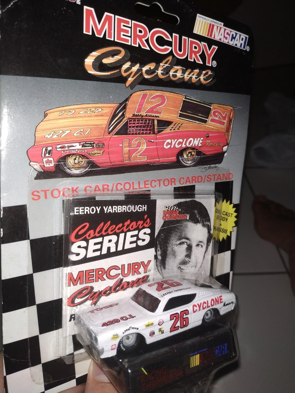 Diecast racing champion nascar cyclone RARE