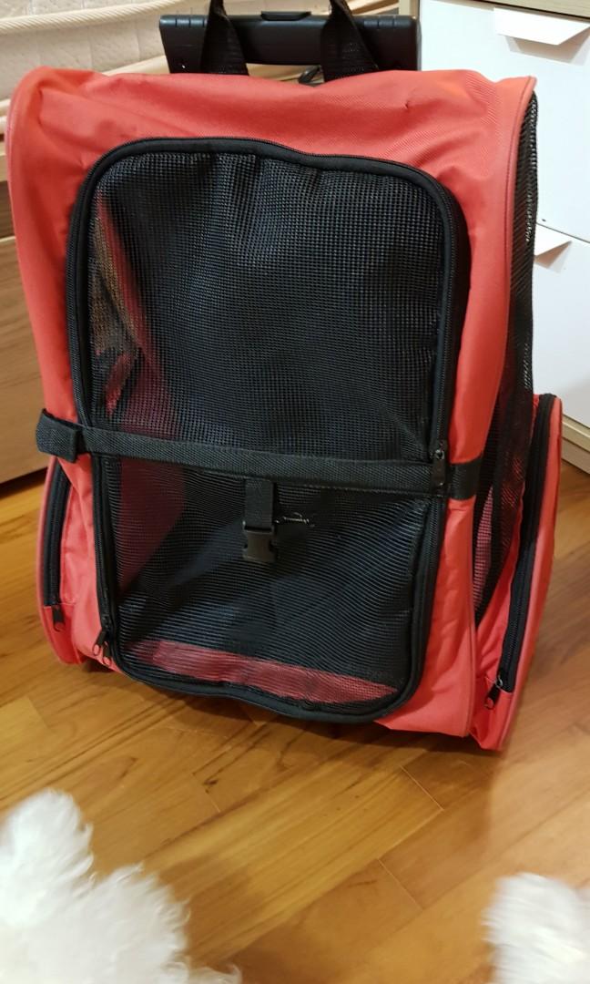 Dog trolley bag