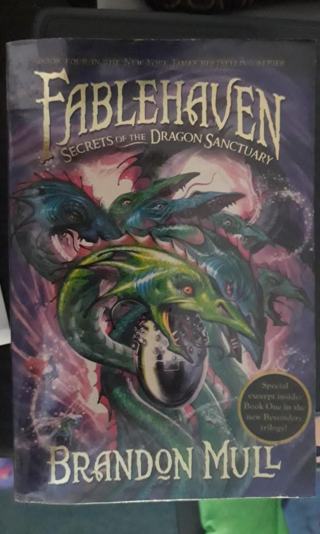 Fablehaven: The Secrets of the Dragon Sanctuary (Brandon Mull)