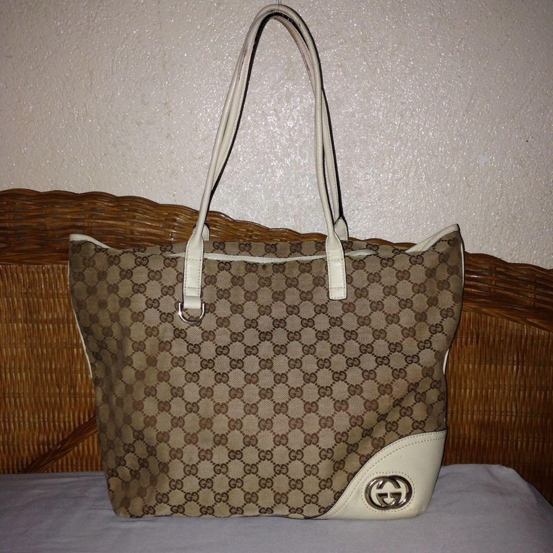 a61cb3c814f Gucci tote monogram (negotiable)