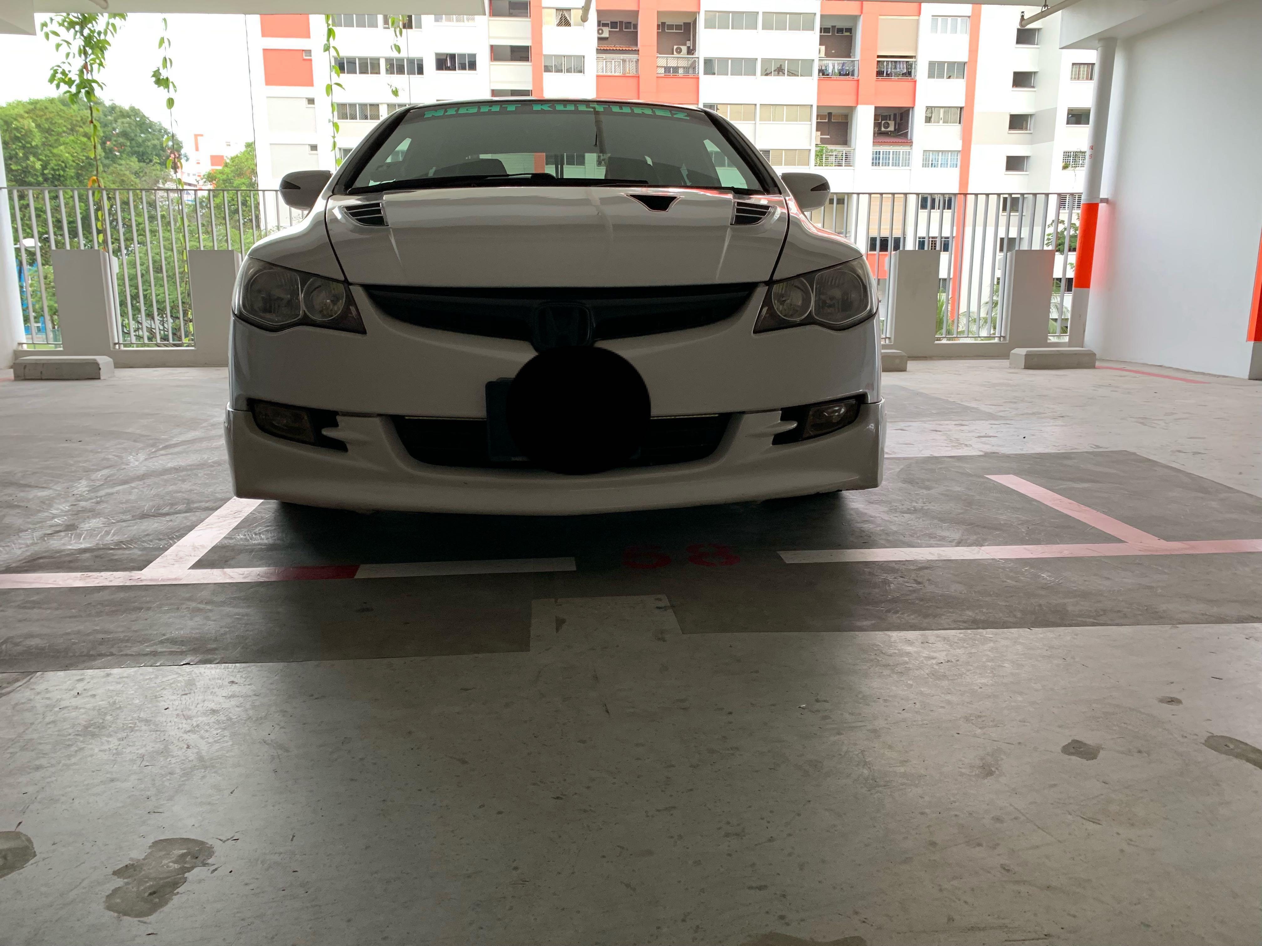 Honda Civic Fd1 Fd2 Fd4 Bumper And Mugen Lips Car Accessories Accessories On Carousell