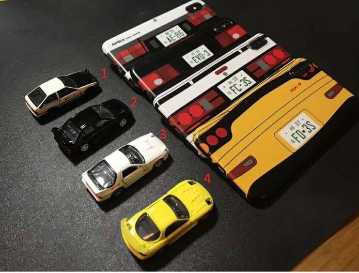 new arrival 2e1cf 06508 INITIAL D case for i phone 6/6s/6splus/7/7plus/x/xs/xr/xsMAX
