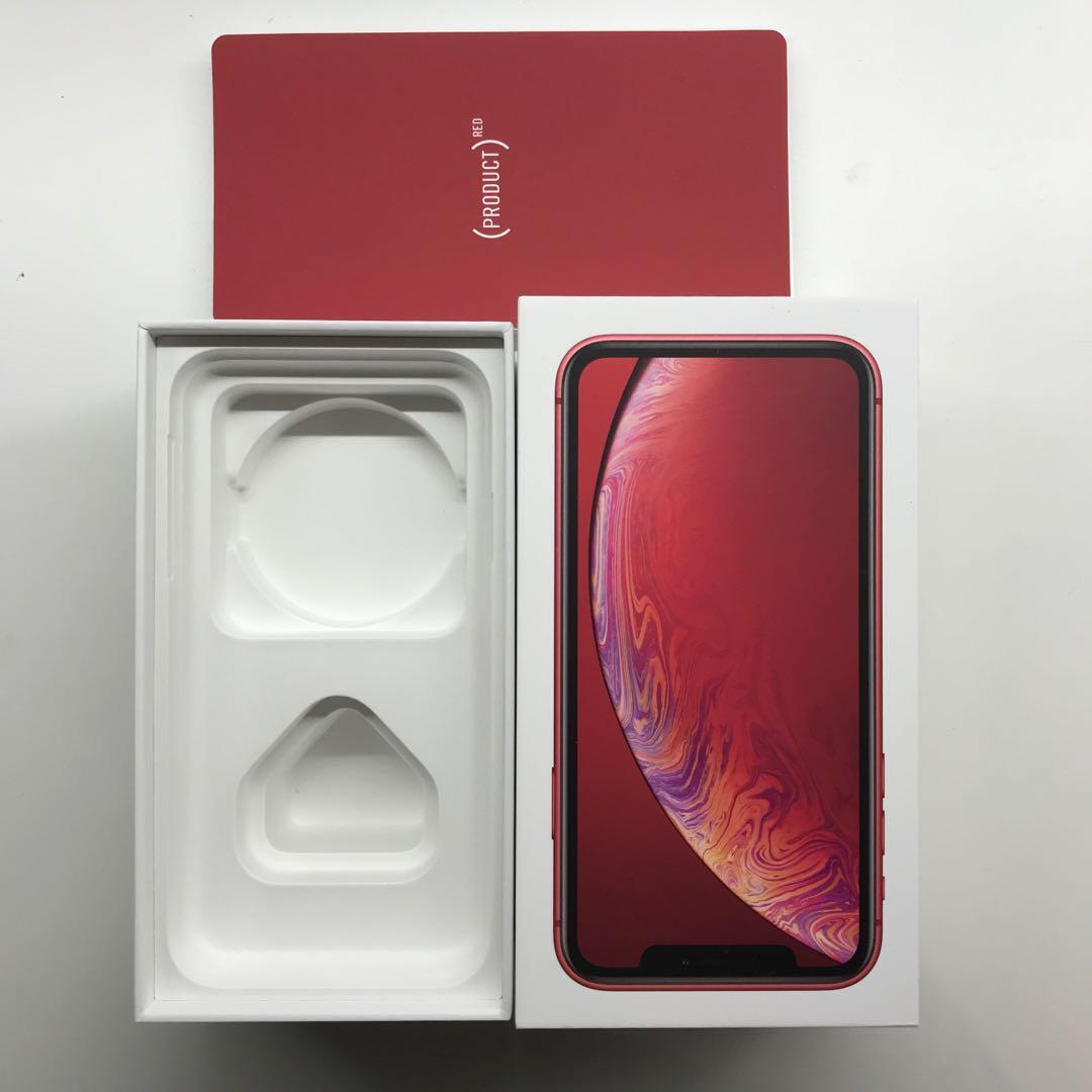 iPhone XR BOX ONLY (128GB PRODUCT RED)