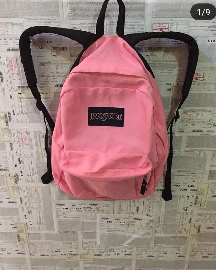 Jansport pink original c348ded6ec