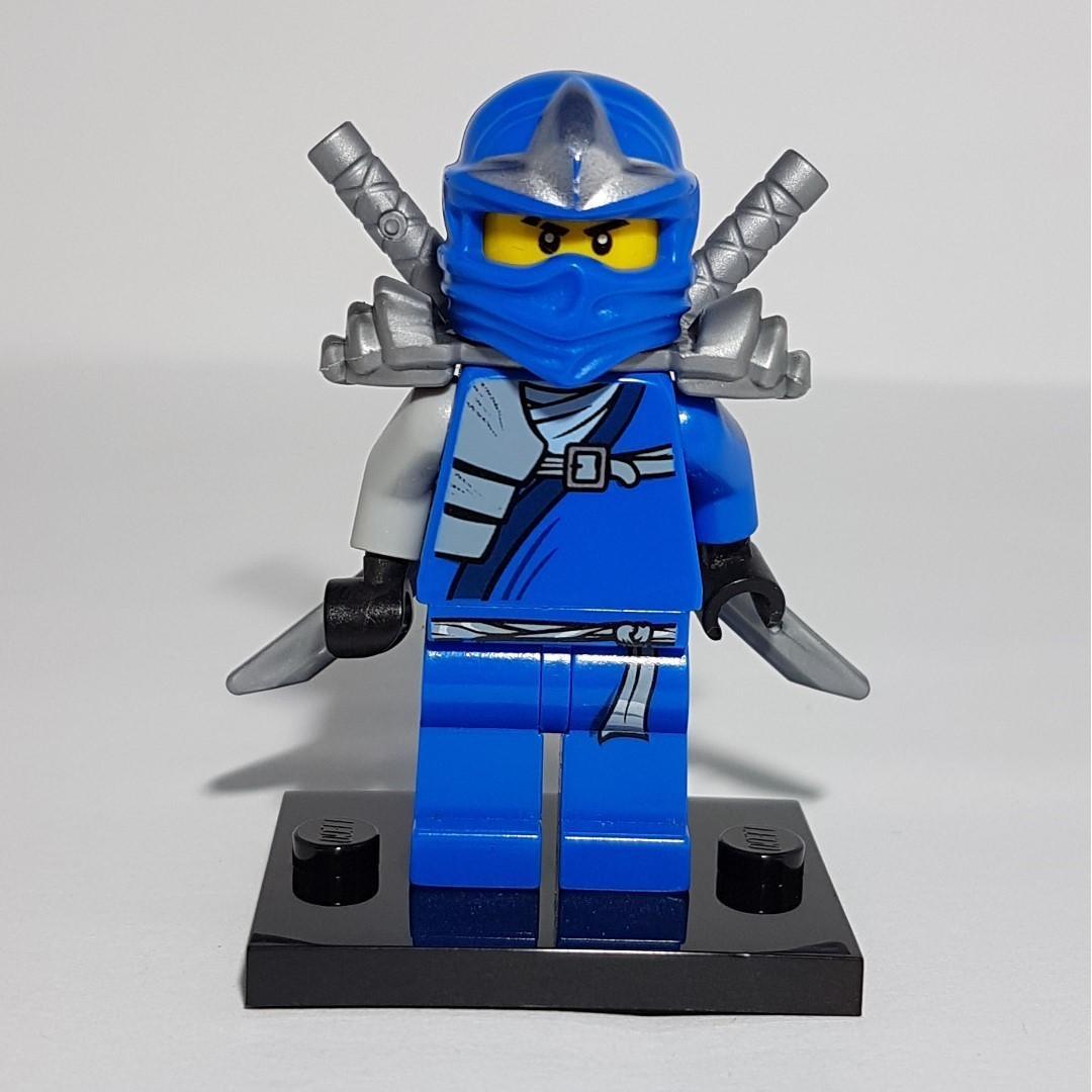 Mini Figure Jay ZX with Armor LEGO Ninjago Minifig martinshudt.com