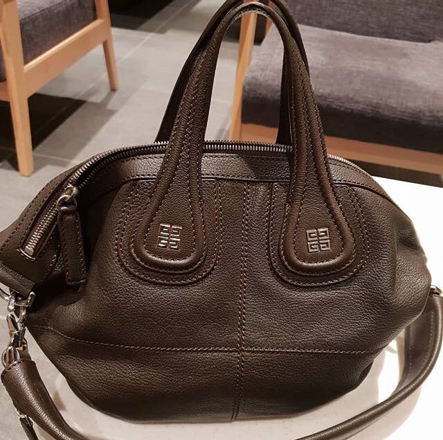 5383720a75 Like New Givenchy Nightingale Small in Choco