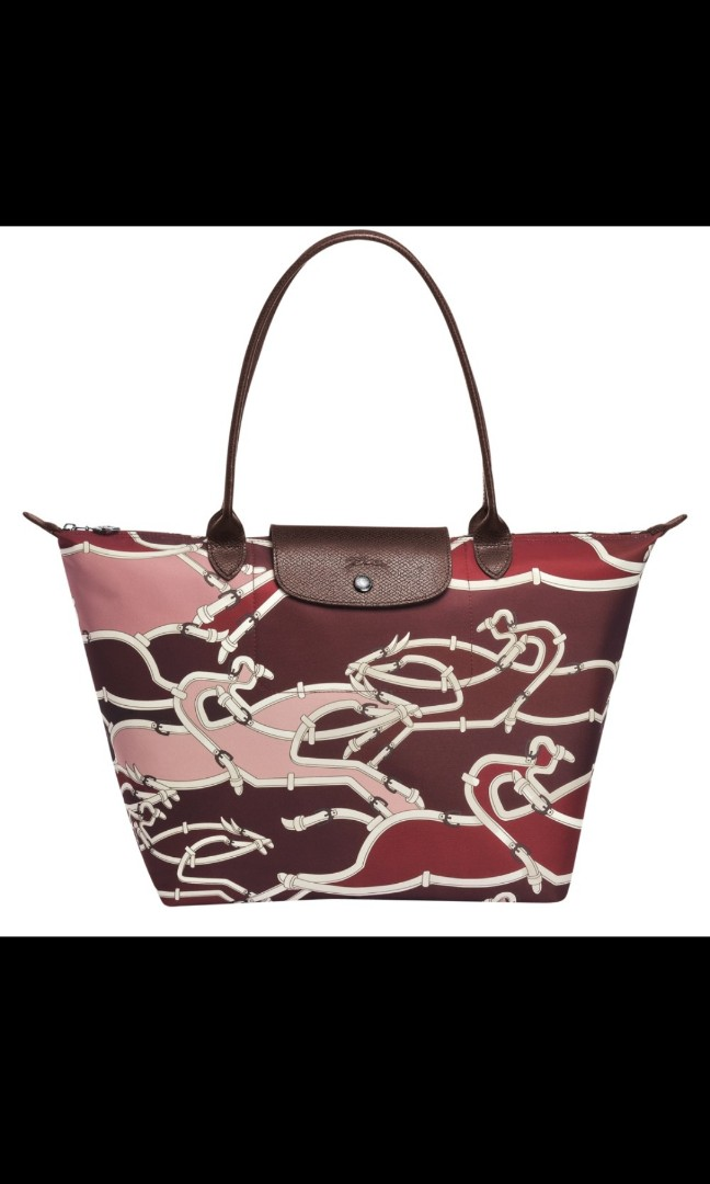 Longchamp Le Pliage Galop Made In France Horse Race Logo Red, Luxury, Bags    Wallets, Handbags on Carousell 8a7f26497a