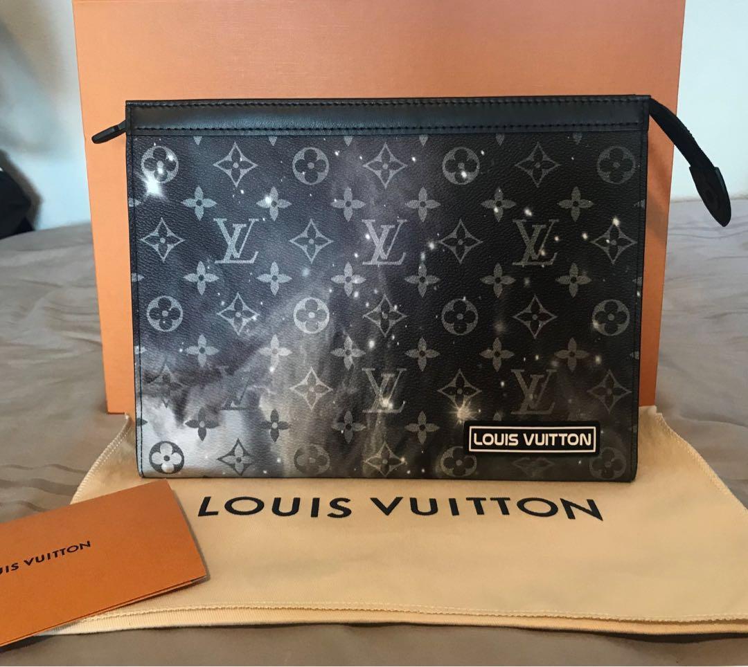cb53ddf4a Louis Vuitton Pochette Voyage in Monogram Galaxy, Luxury, Bags ...