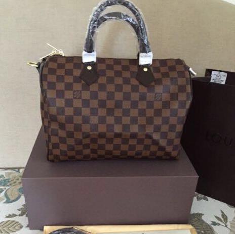 61dc03cfc4 Louis Vuitton Speedy Damier Ebene 30 Bag