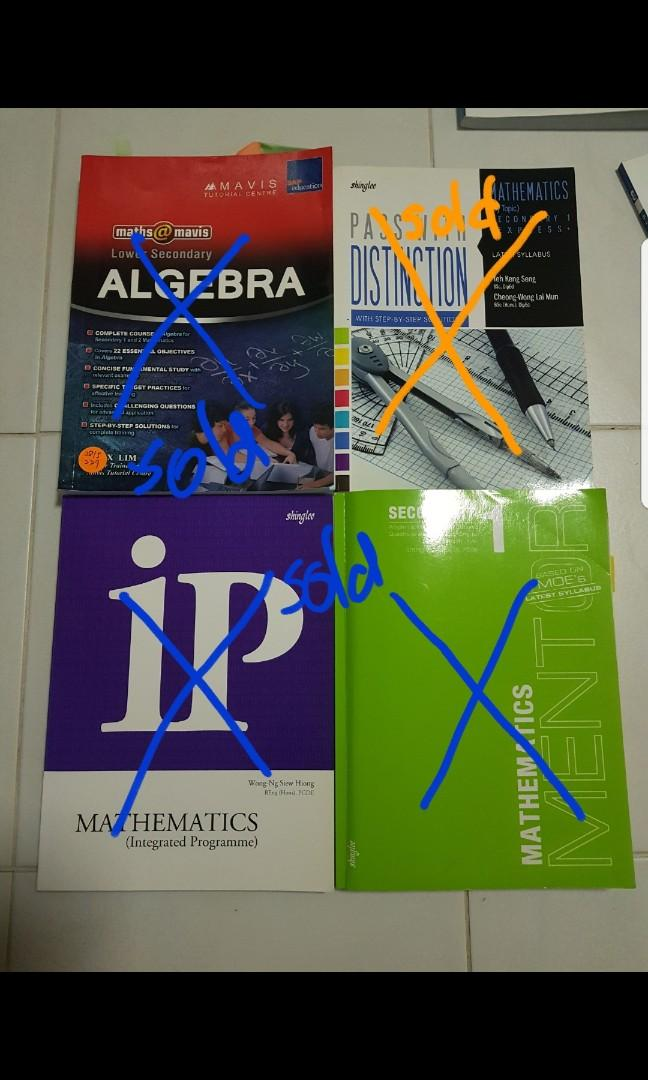 Lower secondary guide books and assessment books for Maths and Science