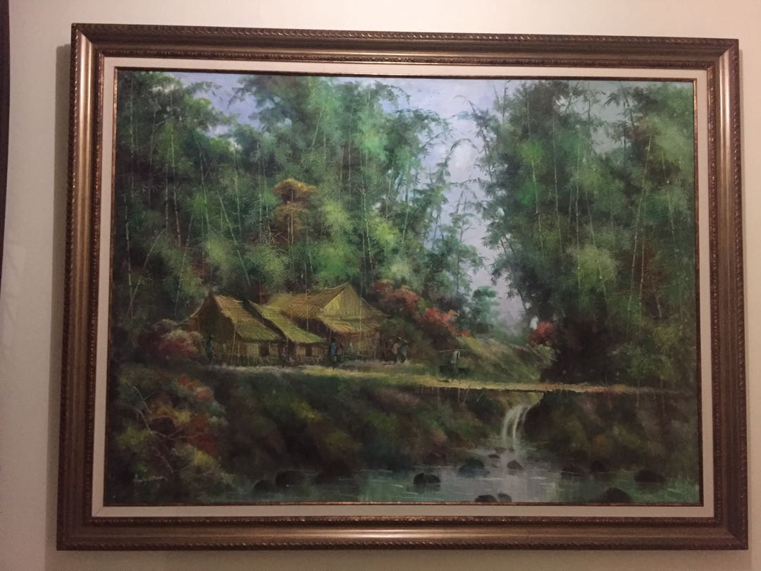 Lukisan Alam Pedesaan 47858989a5