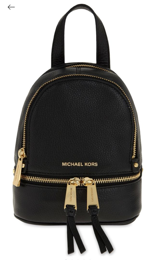 00bb49c35d Michael Kors Rhea extra small leather backpack