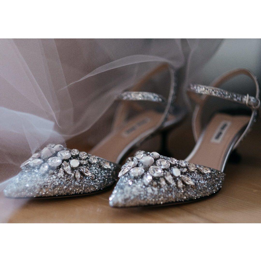 298153add25 Miu Miu Glitter Heels