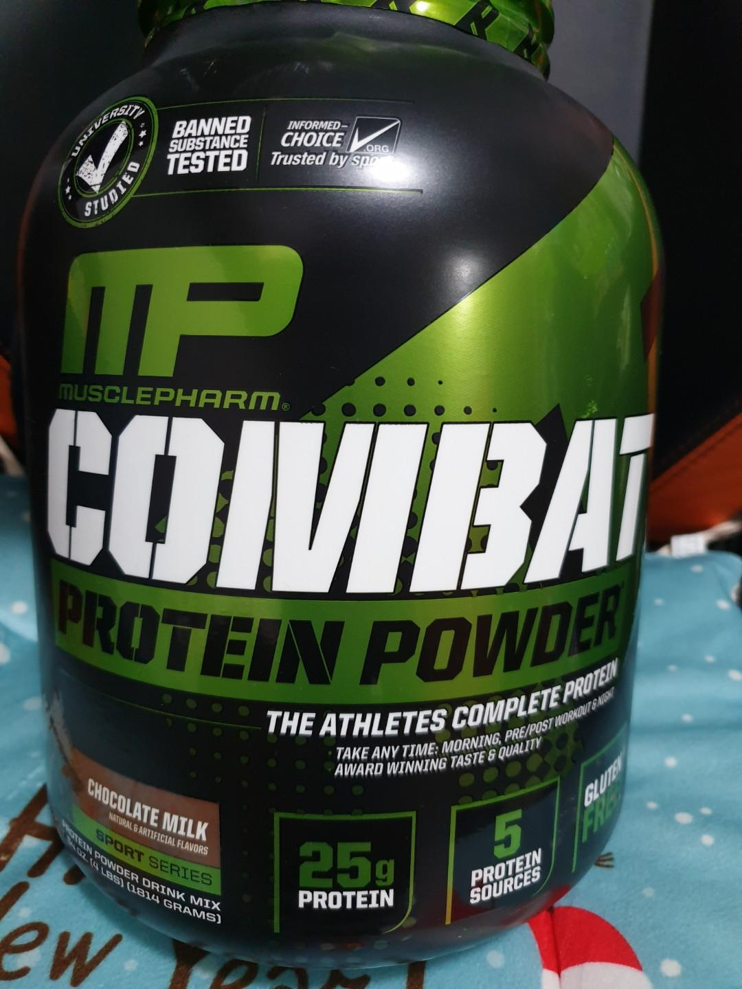MusclePharm Combat Protein Powder (4lbs)