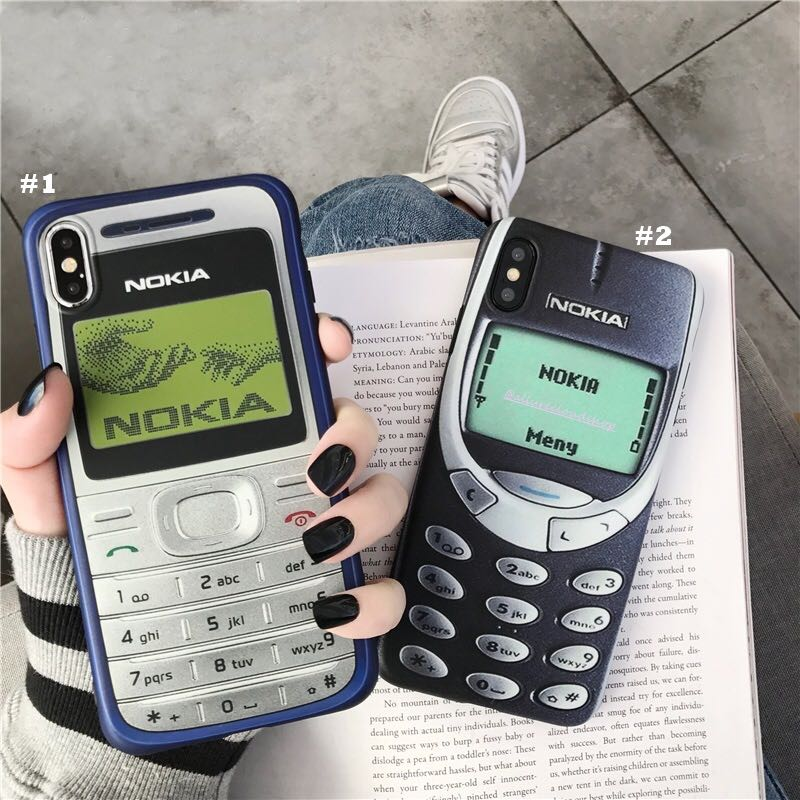 promo code 0f95b 3e96f [PO] Old Nokia Design iPhone Case