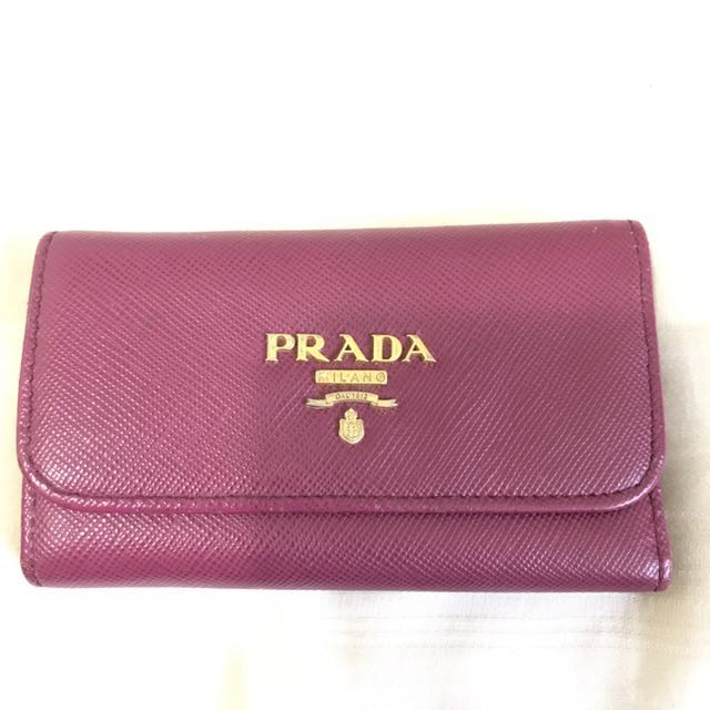 329f651b2a0a5b Preloved Authentiv Prada Key Holder, Luxury, Bags & Wallets, Wallets ...