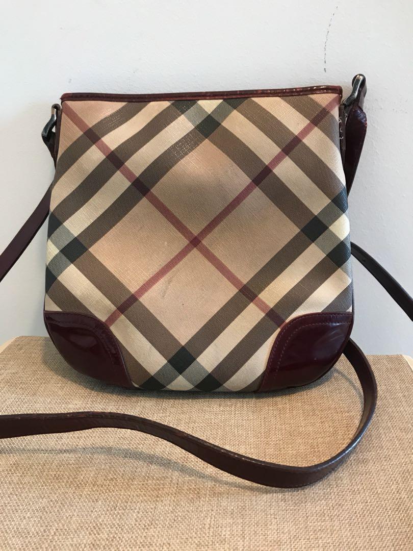 92250e2cc1e3 🔥Price Reduce Authentic Burberry Sling Bag
