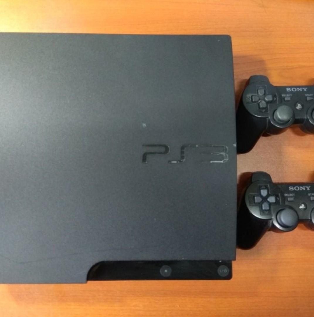 PS3 Slim 160gb + free games