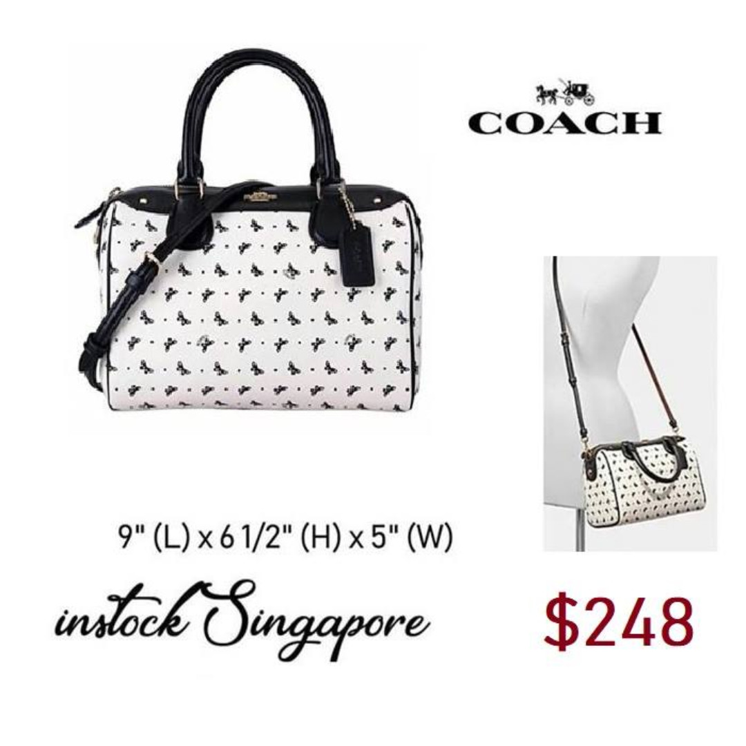 b14d92e1c1fc READY STOCK authentic new Coach MINI BENNETT SATCHEL WITH BUTTERFLY ...
