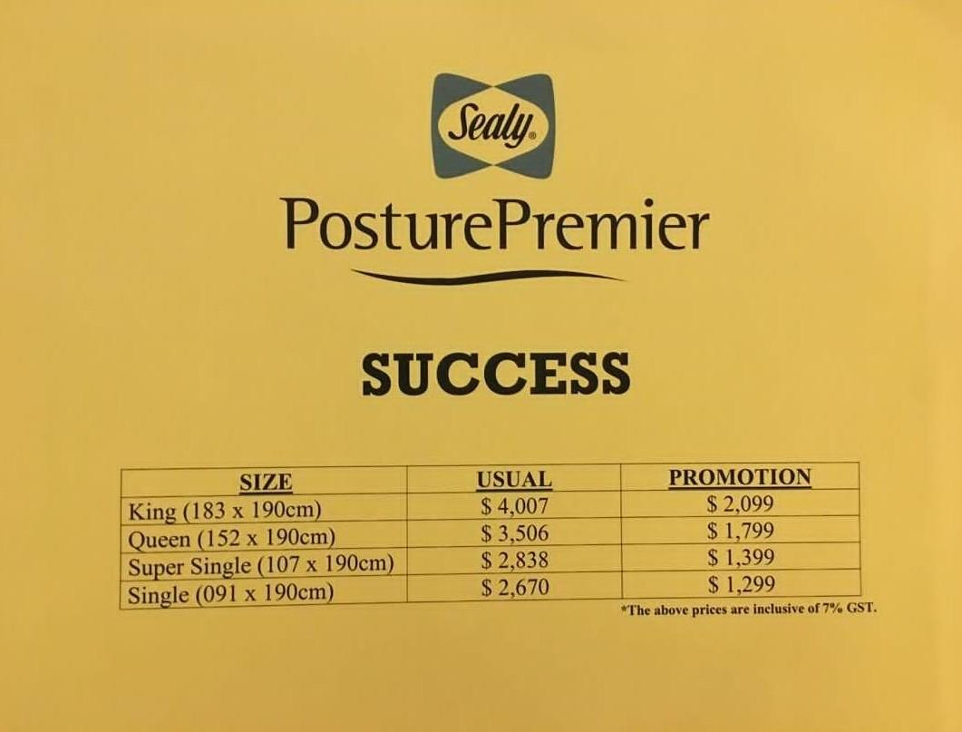 Sealy Success Single Mattress
