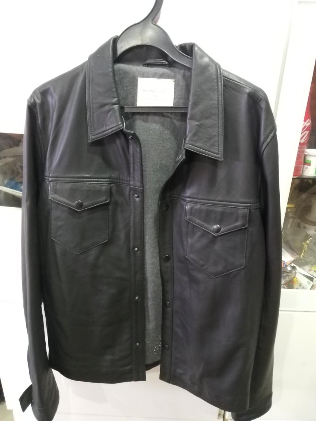 Selected Homme Leather Jacket