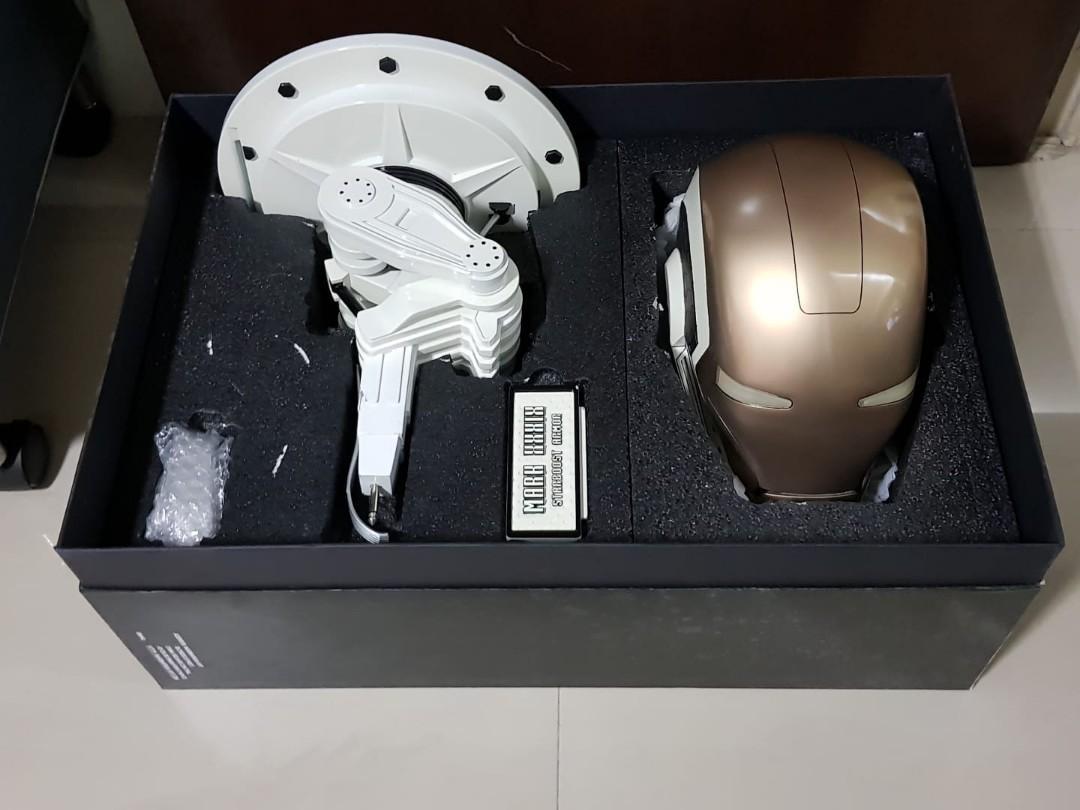The Iron Man Starboost Mark 39 (1:1 Helmet - Limited Edition 444/448)