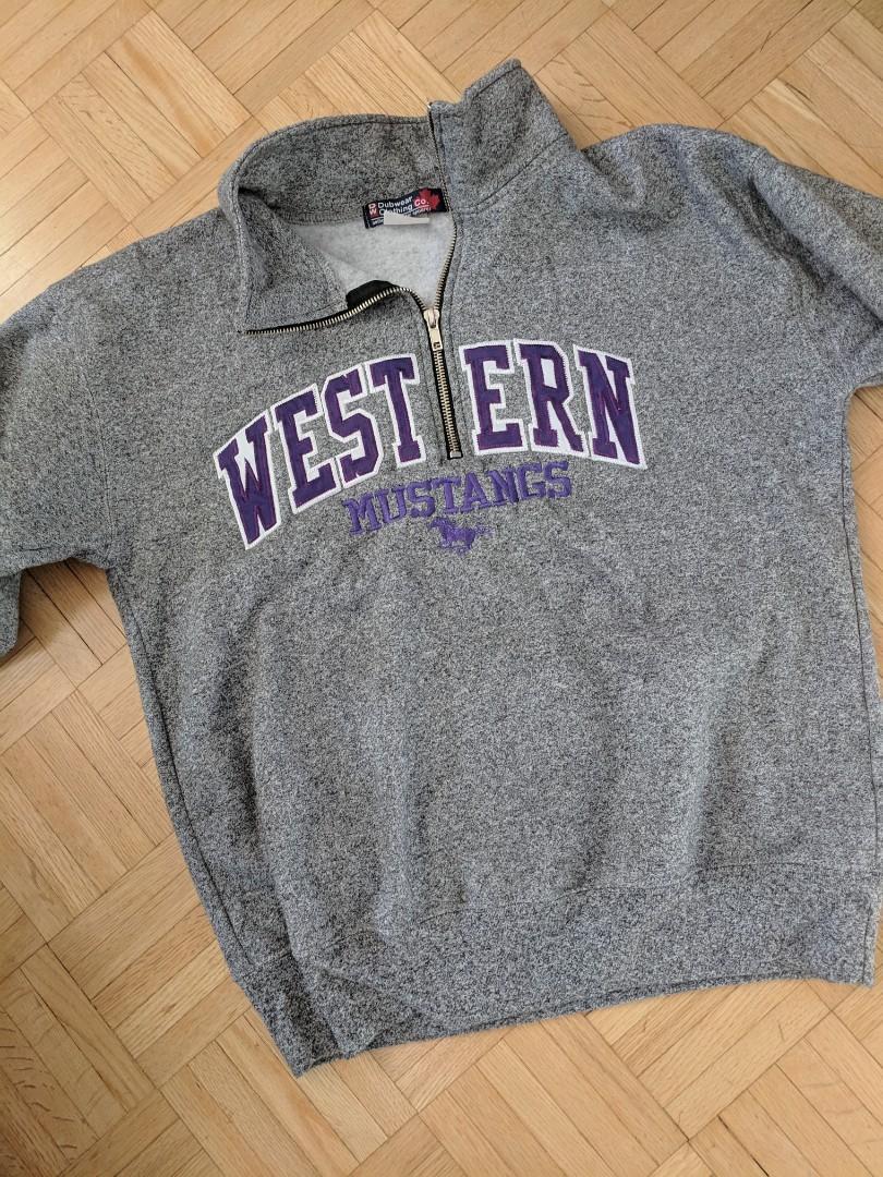 Western University Sweatshirt Sz SM