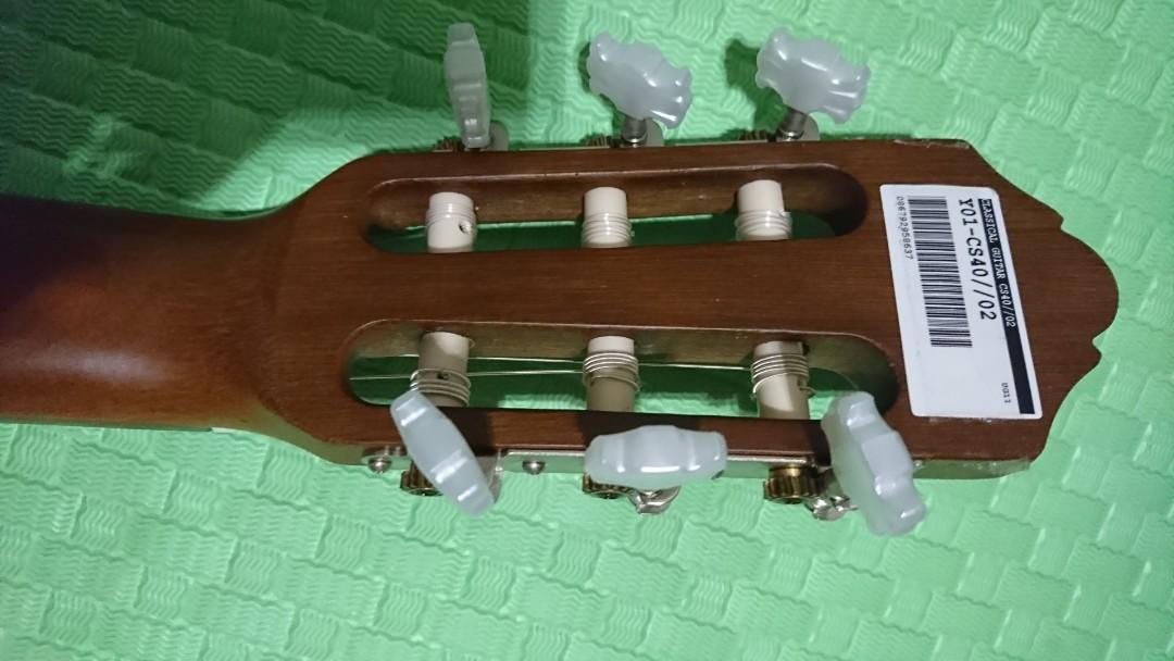 Yamaha cs40 古典結他