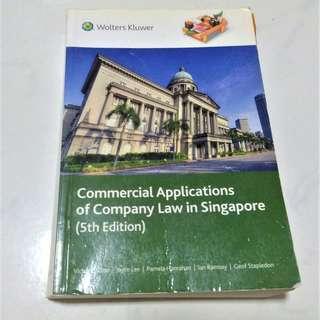 LAW2464 Singapore Company Law