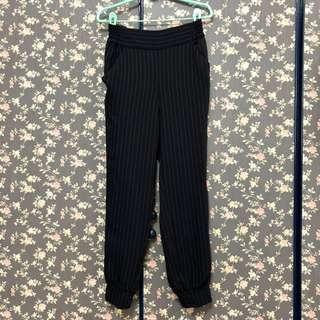 🚚 專櫃日貨qualite 日本製直紋老爺褲 #衣櫃大掃除