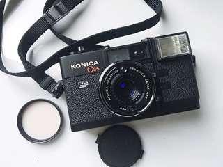 🚚 [超美品]Konica C35 EF 定焦 大光圈 底片相機