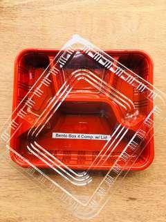 Bento Box Plastic Container