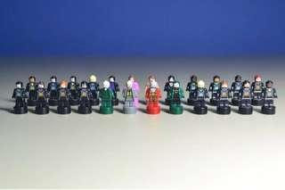 LEGO 2018 Harry Potter Microscale Minifigures From Set 71043 (New)