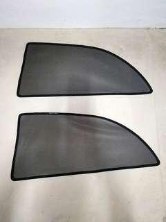 1 x pair of Toyota altis 9th generation rear passenger magnetic sun shades with free delivery