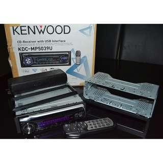 Kenwood / Fusion Car Audio Stereo Subwoofer