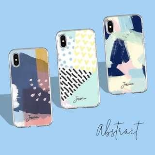Abstract custom case
