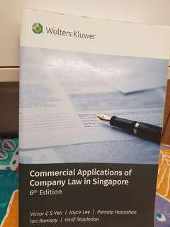 Commercial applications of company law in singapore (6th edition)