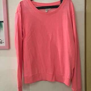 H&M Hot Pink Sweater