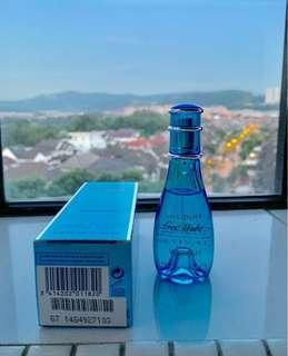 💯Guaranteed Authentic Davidoff Cool Water Woman 30ml Eau De Toilette (EDT) Limited Edition Size New Unused (Bought for RM99.00)