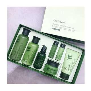 [包順豐 ] Innisfree Green tea special skin care set 綠茶護膚套裝