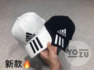 ⭐️YOZU ⭐️ Adidas cap 愛迪達 經典老帽  經典配色 三線老帽 帽子 du0196 du0197