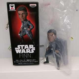 Star Wars The Last Jedi Finn toy figure (imported from Japan)