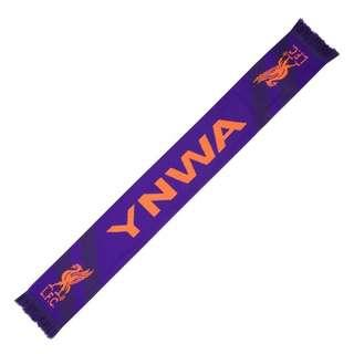 "🚚 ""Inspired by the success of the 18/19 Season Away Kit, the LFC Purple YNWA Scarf features - Purple and orange scarf with 'YNWA' and LFC crests   Materials: 100% Acrylic """