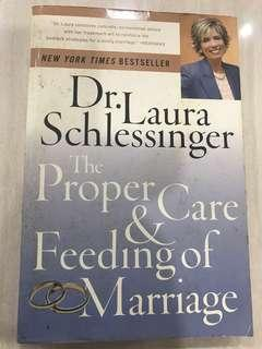 The Proper Care And Feeding of Marriage, Dr. Laura Schlessinger