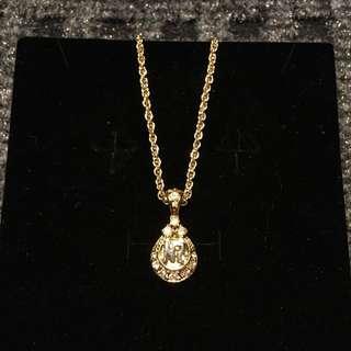 Nina Ricci Teardrop Necklace and Pendant
