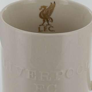 🚚 LFC Cream Embossed Coffee Mug