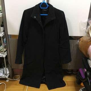 女 厚身長外套