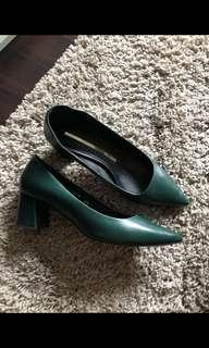 REPRICE - Staccato blocked heels